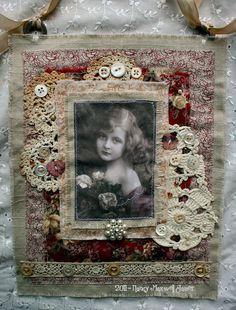 #Sugar Lump Studios - Red Red Rose Collage