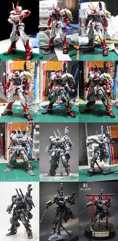 Jaechou's MG 1/100 NEO KYUTARO GUNDAM: The Fusion of Ninja and Samurai. Big Size Images, WIP, Info http://www.gunjap.net/site/?p=280079