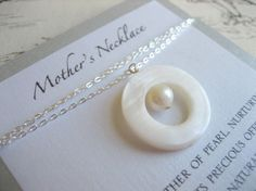 Mother Daughter Necklaces by mauidivegirl on Etsy