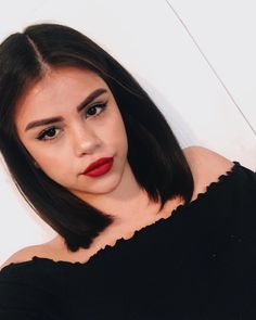 23 Hottest Short Weave Hairstyles in 2019 - Style My Hairs Haircuts Straight Hair, Short Black Hairstyles, Weave Hairstyles, Short Dark Hair, Short Hair Cuts, Medium Hair Styles, Curly Hair Styles, Pixie Cut Wig, Medium Layered Hair