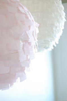 crepe paper lantern