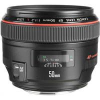 the 50mm F/1.2 is one of the fastest if not the fastest current production lenses in canons  lineup.  Its great for out of focus backgrounds in portraits and low light photos. Canon Normal EF 50mm f/1.2L USM Autofocus Lens