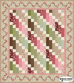 Graceful Moments - Graceful Cascade Free Pattern by Maywood Studio...Want a free pattern every week? Sign-up for our newsletter! A new pattern is provided in our weekly newsletter.