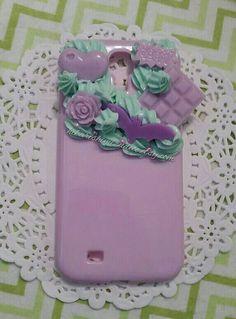 Ready to Ship Samsung Galaxy S4 Creepy Cute by MidnightSpringsDeco