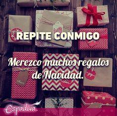 Repite.  #NavidadEspadiva #Porquéno