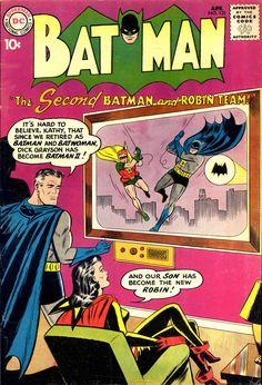 Batman #133 (April 1960) - Cover by Sheldon Moldoff