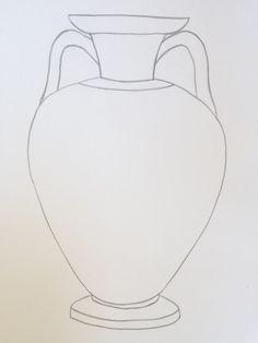 Ancient Greece Display, Ancient Greece Ks2, Op Art Lessons, Art Lessons Elementary, Greek Crafts, Black And White Art Drawing, Greece Art, Greek Mythology Art, Ancient Greek Art