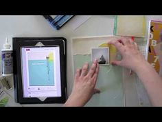 Janna Werner: 7 Tage - 7 Layouts   Tag 1 :: #scrapbooking video tutorial (German)