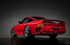 "brettcreates: 1988 Porsche 959 S ""Sport"": 1 of 29 made"
