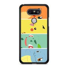 Pokemon Charmander Pikachu Bulbasaur Squirtle LG G5 case