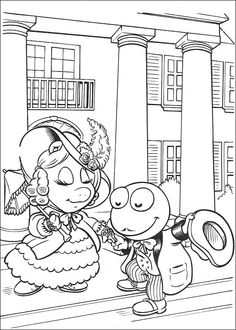 Muppets Coloring Pages 52