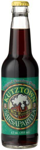 """Kutztown SARSAPARILLA FROM PENNSYLVANIA  -  """"Nix Besser, Shemp!"""", 12-Ounce Glass Bottles (Pack of 12) *** You can find more details by visiting the image link.  This link participates in Amazon Service LLC Associates Program, a program designed to let participant earn advertising fees by advertising and linking to Amazon.com."""