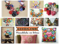 Manualidades con botones / Crafts with Buttons