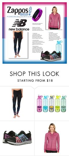 """""""Run the World in New Balance"""" by iva-hrgic98 ❤ liked on Polyvore featuring New Balance, Soleus and NewBalance"""