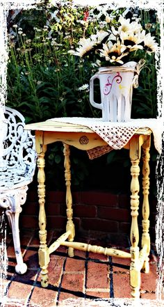 SOLD Upcycled Vintage French Country Cottage by RepurposedbyM, $90.00