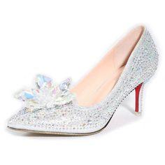 Cinderella Crystal Shoes