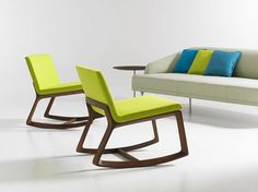 Modern rocking chair for the casual workplace