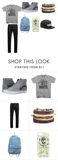 """MADE BY MY DAUGHTER"" by kimrlanier on Polyvore featuring Vans, Jos, Dsquared2, men's fashion and menswear"