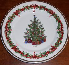 Christopher Radko Traditions Holiday Celebrations Christmas 2004 Annual Plate