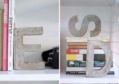 26 DIY Concrete Projects via Brit + Co