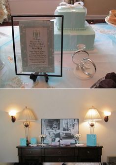 Chic Sprinkles: Breakfast at Tiffany's Bridal Shower #Tiffany