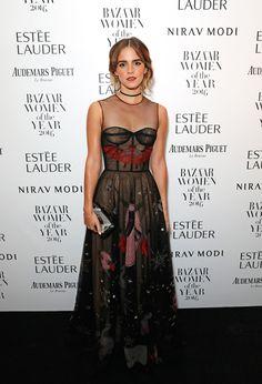 Emma Watson Wearing Dior