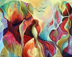 Intuitive Art 4...You are my Sun and my Moon.