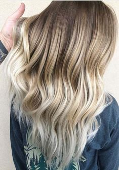 Pretty ideas of balayage ombre hair colors and highlights for long hair looks in 2018. You may visit here to find a lot of best styles and shades of balayage and ombre hair colors combinations to show off in these days. These hair color shades are best ever options for ladies and young girls in year 2018.