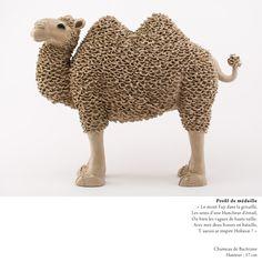 Chameau / Camel / Valerie Courtet / sculpture / www.valeriecourtet.com