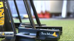 Zach Johnson, the 2015 British Open champion, uses a putter from the SeeMore Putting Company based in Franklin, TN.