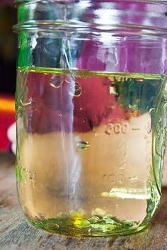 Craft Knife: Homeschool Science Experiment: Oil and Water Do Not Mix