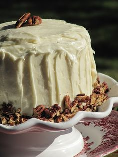 Pine Cones and Acorns: Fabulous Carrot Cake Recipe Just Desserts, Delicious Desserts, Yummy Food, Cake Recipes, Dessert Recipes, Icing Recipes, Party Recipes, Best Carrot Cake, Carrot Cakes