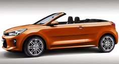 2017 Kia Rio Will get Rendered With out Its High - Autos Online Kia Motors, Kia Rio, Concept Cars, Convertible, Germany, Vehicles, Walking, Technology, Easy