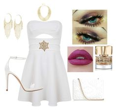 """""""Sparkely Christmas Party"""" by mymyhearts on Polyvore featuring Miss Selfridge, Anya Hindmarch, Zara, BCBGMAXAZRIA, Lydell NYC and Smith & Cult"""
