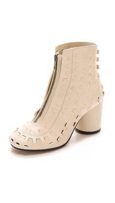 Maison Martin Margiela Cutout Zip Tabi Boots