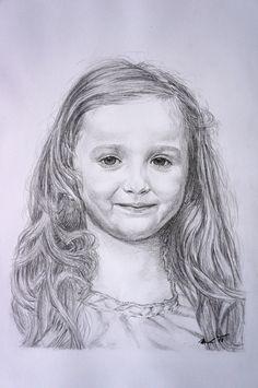 Portrét holčíčky - Pencil