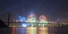 Golden Gate Bridge 75th Fireworks by NMB.Photography, via Flickr