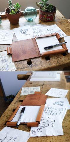 Napkin Sketchbook     http://www.baum-kuchen.net/products/napkin-sketchbook