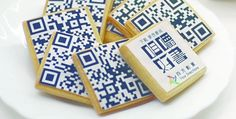 Add edible QR codes to #custom cookies for a unique promo.