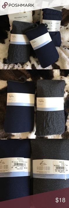 Tights Bundle Med/Lg $42 total value.  5 pair of tights. 3 navy Blue. 1gray. 1 Ivory.  All proceeds from this closet benefit a Women's Resource Center. Accessories Hosiery & Socks