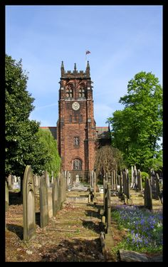 St Peters Church in the Woolton area of Liverpool, England | Merseyside