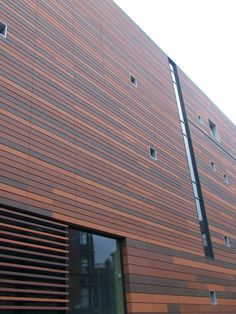 James and Taylor Terracotta Rainscreen Cladding