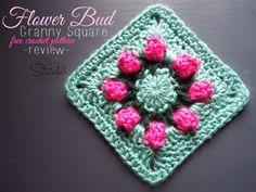 Flower Bud Granny Square – Free Crochet Pattern – Review