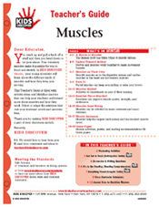 FREE 12-page Downloadable Lesson Plan for Kids Discover Muscles!