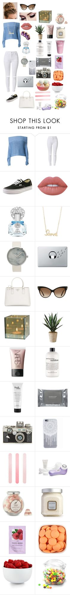 """Untitled #110"" by michelle-martinez890 on Polyvore featuring TIBI, Vans, Lime Crime, Vince Camuto, Sydney Evan, Music Notes, Prada, Christian Dior, CO and NARS Cosmetics"
