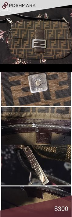Fendi bag Used. Some metal scratches. Normal signs of wear. No dust bag. No box. Used. Still in good condition. Final sale.  No returns Fendi Bags