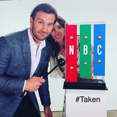 Coming soon Taken. Staring these two good people.Clive Standen and Jennifer Beals. Rollo Lothbrok, Bryan Mills, Jennifer Beals, Second Best, Good People, Falling In Love, Vikings, Actors, Pictures