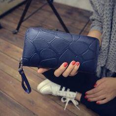 Korean Women Pu Purse Fashion Casual Female Wallet Women Purse Wallet For Women Teenage Girl Cartera