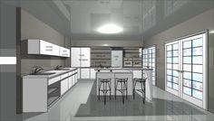 עיצוב מטבח יוקרה בתל אביב פרויקט שרונה #מטבחים  #kitchens