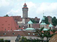 Einsatz in Nürnberg. Nach der Arbeit begrüßt uns die Stadt mit ihrem tollen Ambiente.